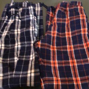 Set of boys pajama pants.  EUC.